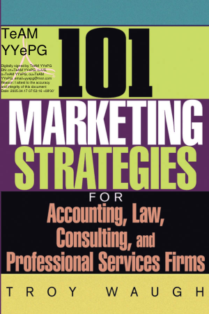 101 Marketing Strategies for Accounting Law Book, Download Free Templates