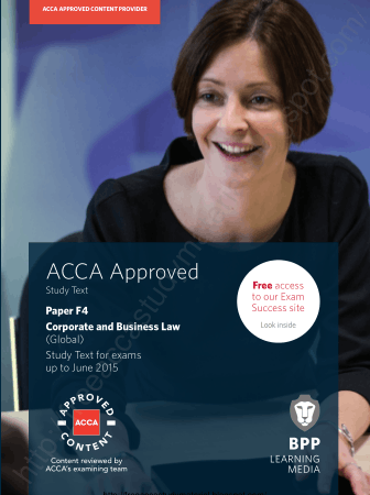 2015 ACCA F4 Glo Study text BPP Book, Download Free Templates