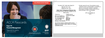 2015 ACCA F9 PassCards BPP Book, Download Free Templates