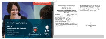 2015 ACCA P7 PassCards BPP Book, Download Free Templates