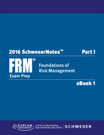 2016 FRM Part1 Schweser Notes Book 1 Fundationas of Risk Managment Book, Download Free Templates