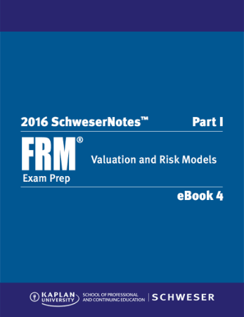 2016 FRM Part1 Schweser Notes Book 4 Valuation and Risk Models Book, Download Free Templates
