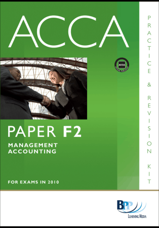 ACCA F2 MA Revision Kit BPP 2010 Book, Download Free Templates