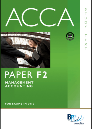ACCA F2 MA Study Text BPP 2010 Book, Download Free Templates