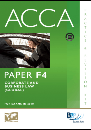 ACCA F4 BPP Global Revision Kit 2010 Book, Download Free Templates