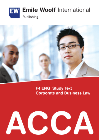 ACCA F4 EW study text 2011 Book, Download Free Templates