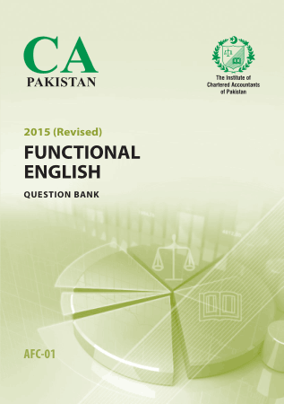 AFC1 Functional English Question bank Revised ICAP Book, Download Free Templates