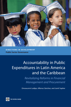 Accountability in Public Expenditures in Latin America and the Caribbean Book, Download Free Templates