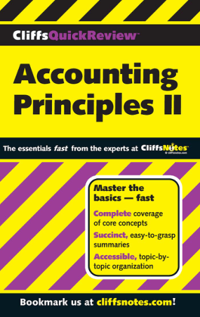 Accounting Principles II Book, Download Free Templates