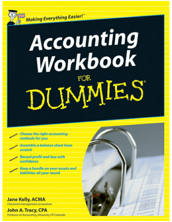 Accounting Workbook for Dummies Book, Download Free Templates