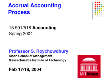 Accrual Accounting Process Book, Download Free Templates