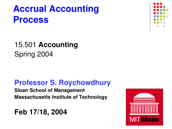 Accrual Accounting Process II Book, Download Free Templates