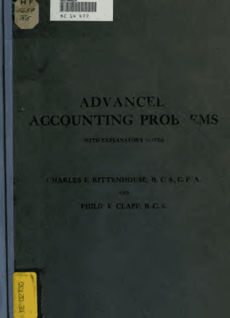 Advanced accounting Problems With explanatory notes Book, Download Free Templates