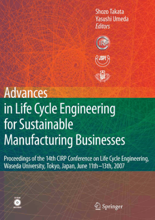 Advances In Life Cycle Engineering For Sustainable Manufacturing Businesses Book, Download Free Templates