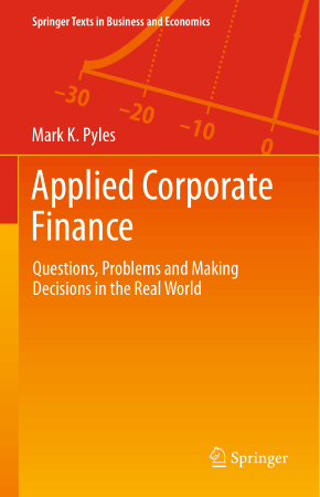 Applied Corporate Finance Book, Download Free Templates