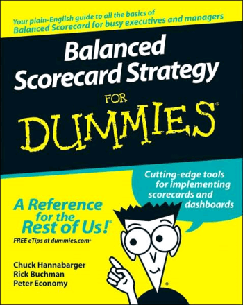 Balanced Scorecard Strategy for Dummies Book, Download Free Templates