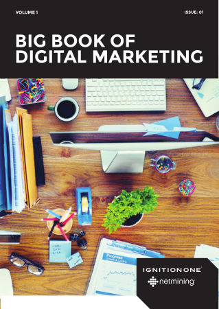Big Book of Digital Marketing Book, Free Vector