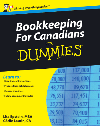 Bookkeeping for Canadians for Dummies Book, Download Free Templates
