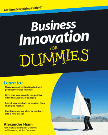 Business Innovation For Dummies Book, Download Free Templates