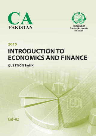 CAF2 Intorduction to Economics and Finance Questionbank ICAP Book, Download Free Templates