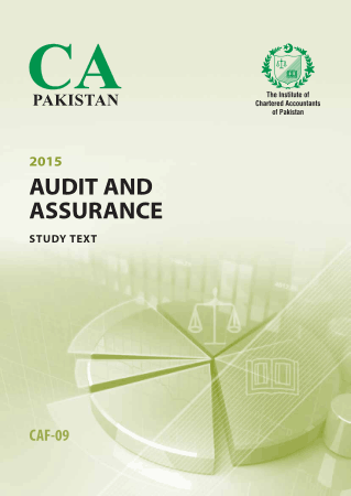 CAF9 Audit and Assurance Study text Book, Download Free Templates