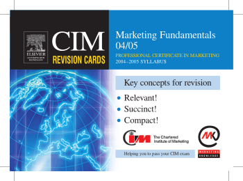 CIM Revision Cards Marketing Fundamentals Book, Download Free Templates
