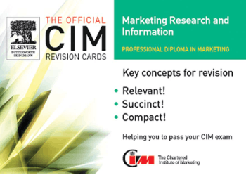 CIM Revision Cards Marketing Research and Information of Marketing Knowledge Book, Download Free Templates