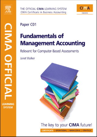 CIMA C1 Fundamentals of Management Accounting Book, Download Free Templates