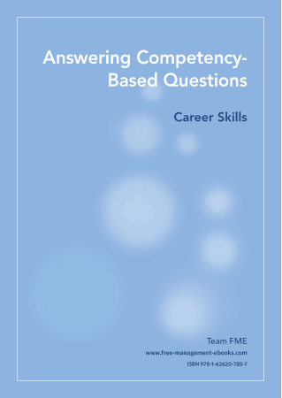 Competency Questions Career Skills Book, Download Free Templates
