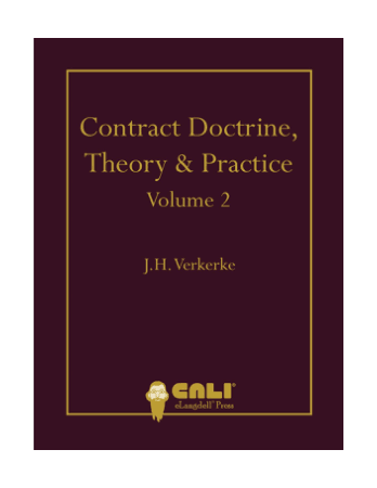 Contract Doctrine Theory and Practice vol 2 Book, Download Free Templates