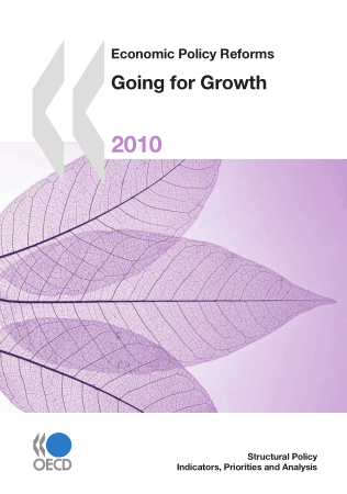 Economic Policy Reforms 2010 Going for Growth Book, Download Free Templates