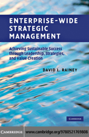 Enterprise wide Strategic Management Book, Download Free Templates