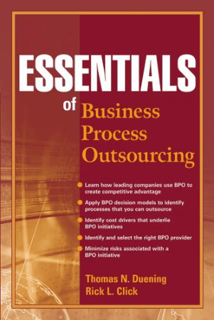Essentials of Business Process Outsourcing Book, Download Free Templates