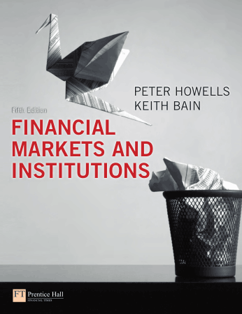 Financial Markets and Institutions 5E Book, Free Vector