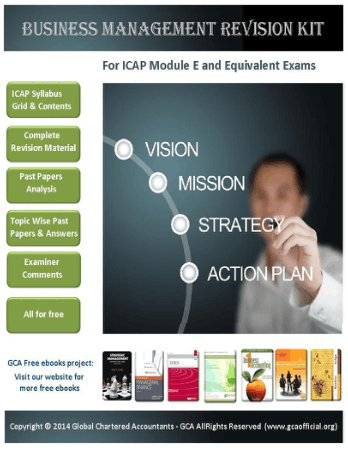 Gca Business Management Revision Kit Book, Download Free Templates