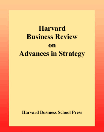 Harvard Business Review on Advances in Strategy Book, Download Free Templates