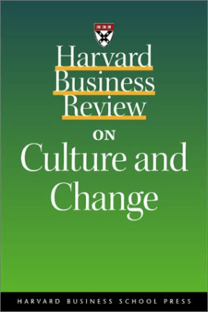 Harvard Business Review on Culture and Change Book, Download Free Templates