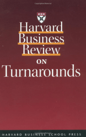 Harvard Business Review on Turnarounds Book, Download Free Templates