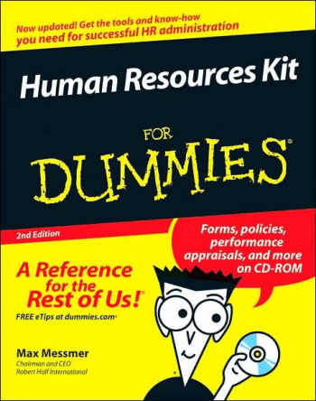 Human Resources Kit For Dummies 2nd Edition Book, Download Free Templates