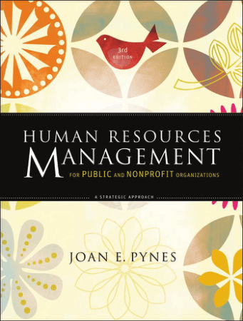 Human Resources Management for Public and Nonprofit Book, Download Free Templates