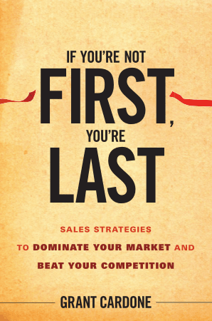 If You are Not First You are Last Sales Strategies Book, Download Free Templates