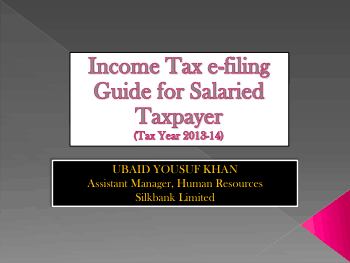 Income Tax eGuide for Salaried Tax Payer Book, Download Free Templates
