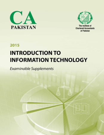 Information Technology Examinable Supplement ICAP Book, Download Free Templates