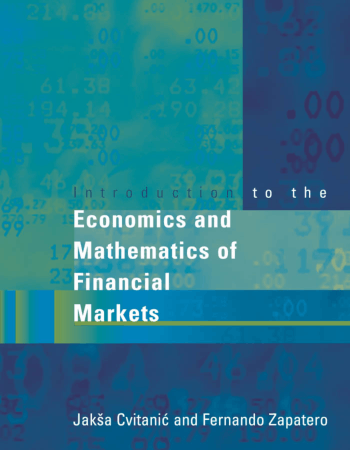 Introduction to the Economics and Mathematics of Financial Markets Book, Download Free Templates