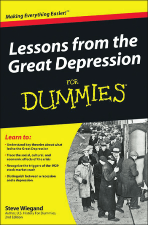 Lessons from the Great Depression for Dummies Book, Download Free Templates