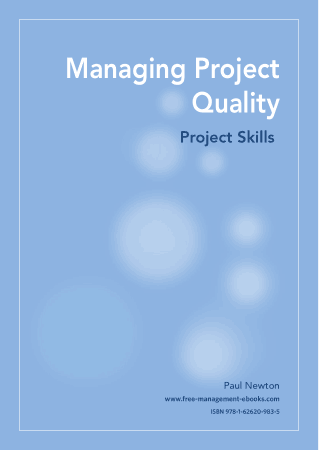 Managing Project Quality Project Skills Book, Download Free Templates