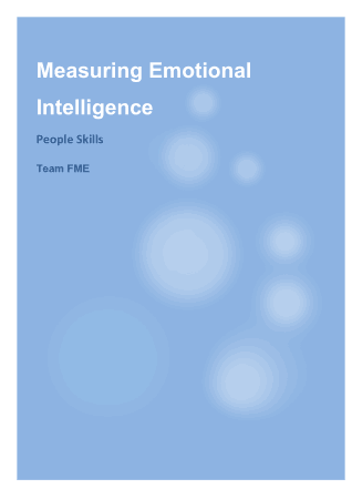 Measuring Emotional Intelligence Book, Download Free Templates