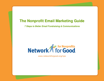 Nonprofit Email Marketing Guide Book, Free Vector