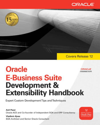 Oracle E-Business Suite Development and Extensibility Handbook Book, Download Free Templates