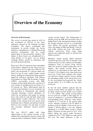 Overview of the Economy Book, Download Free Templates